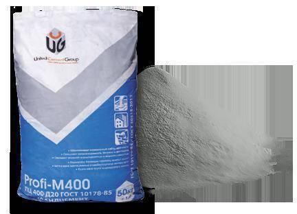 Цемент и портландцемент м400 (м 400, пц 400) — технические характеристики: плотность, удельный и объемный вес