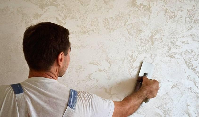 Художественная штукатурка (24 фото): виды и особенности применения декоративной штукатурки для стен