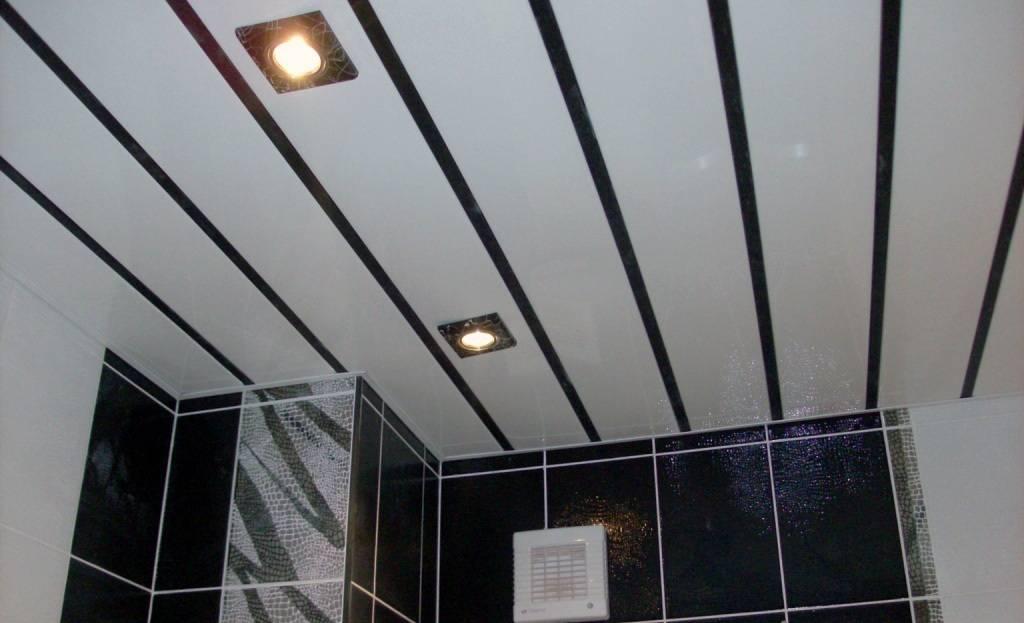 Потолок из панелей пвх своими руками: обзор конструкции, советы как крепить и порядок действий при монтаже (125 фото + видео)