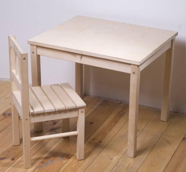 Детский столик своими руками - 140 фото и видео инструктаж как построить и украсить детский стол