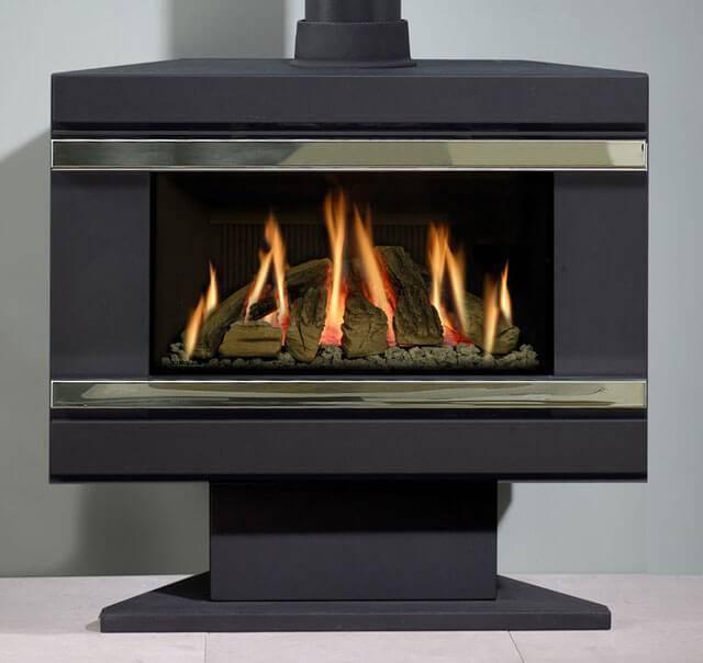 Газовый камин (55 фото): горелка с баллонном для дома, модели от баллона для загородного коттеджа, конструкции в квартире своими руками