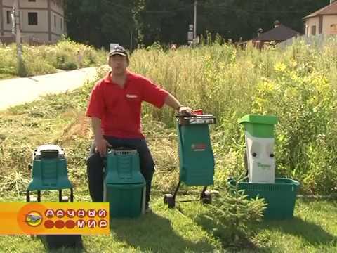 Рейтинг лучших садовых измельчителей веток: запускаем биологическое строительство участка