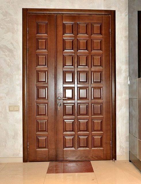 Деревянные двери своими руками: пошаговая инструкция, схемы