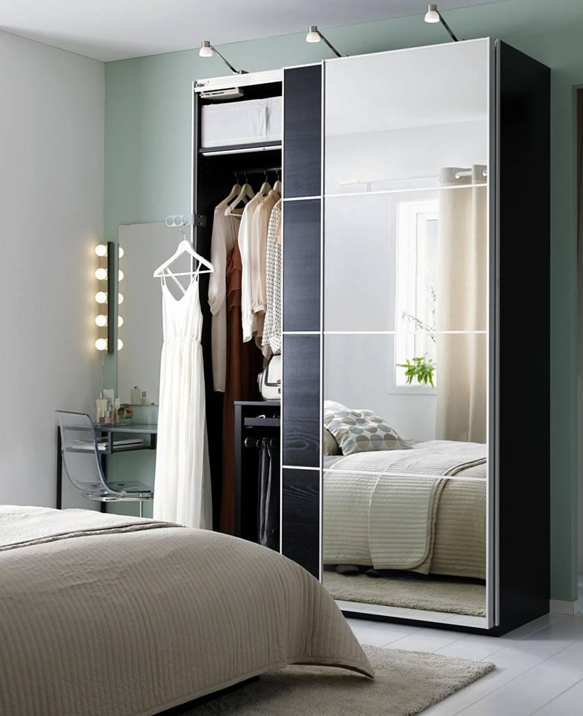 Какие бывают трехстворчатые шкафы купе, обзор моделей с зеркалом