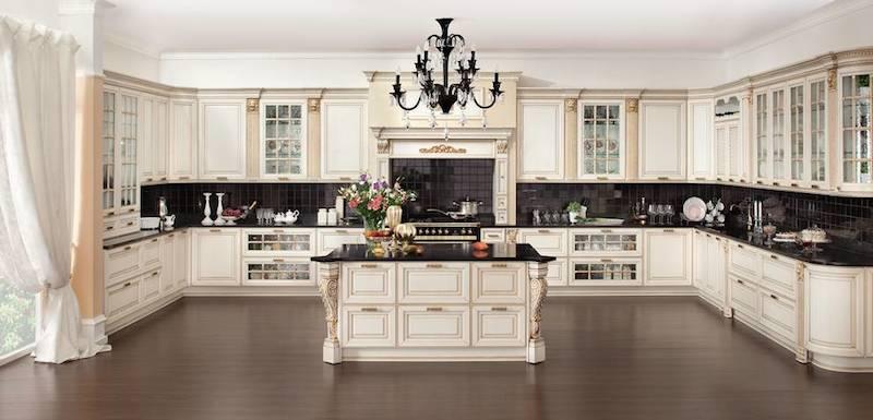 Кухня кремового цвета: обзор картин интерьера с пастельной гаммой