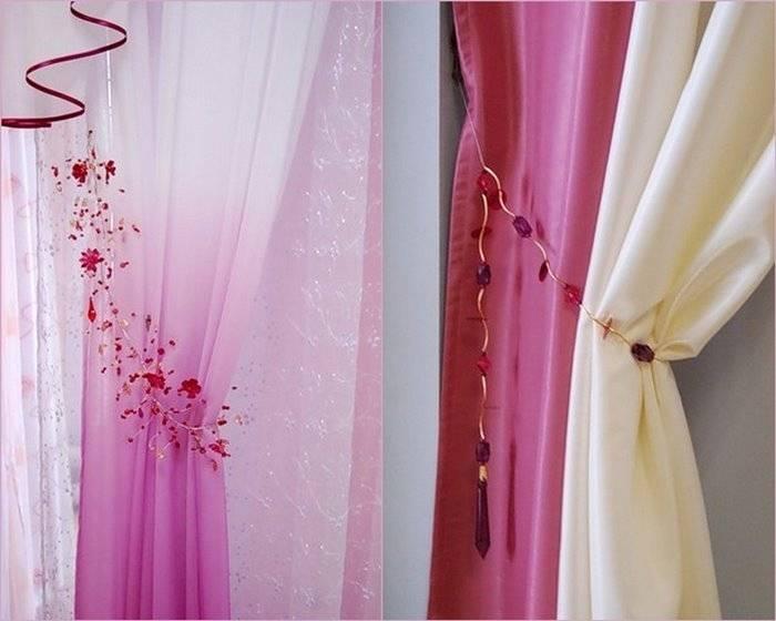 Держатели для штор (70 фото): настенные держатели и крючки в интерьере, декоративные модели