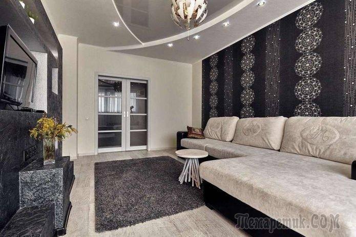 Красивые обои в интерьере - современный декор и свежие идеи оформления комнат (165 фото)