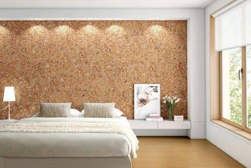Пробковые панели для стен; лучшие природные стройматериалы