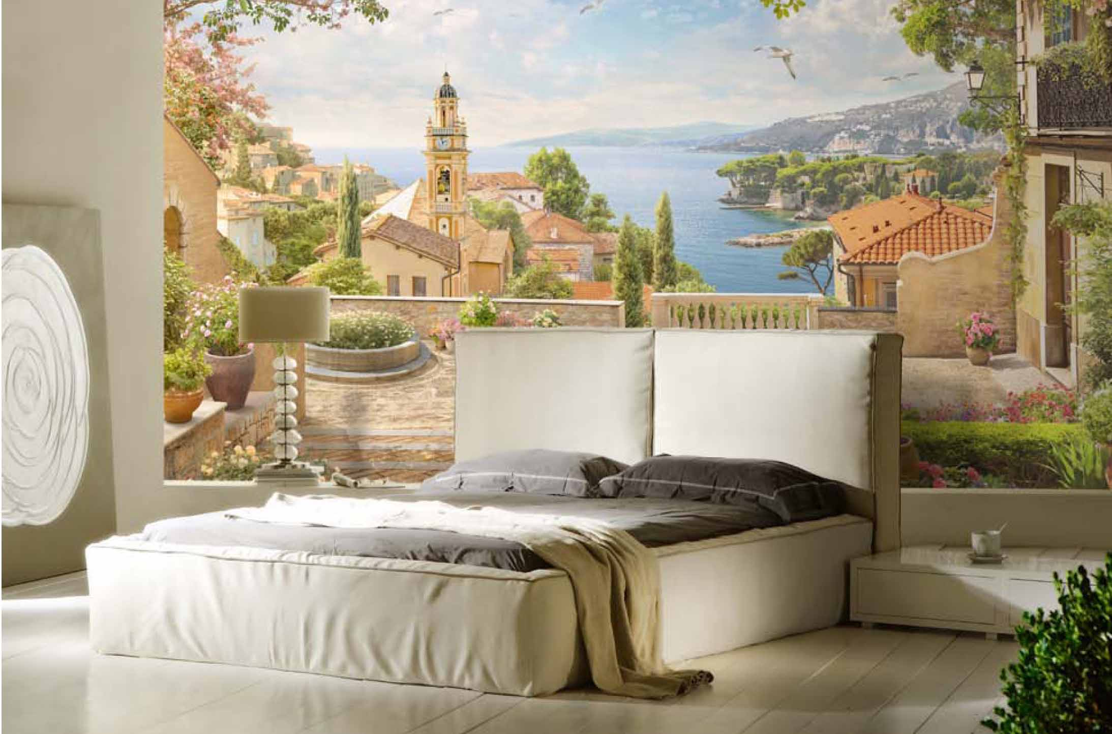 Фрески на стену дома: фото интерьеров (50 фото)