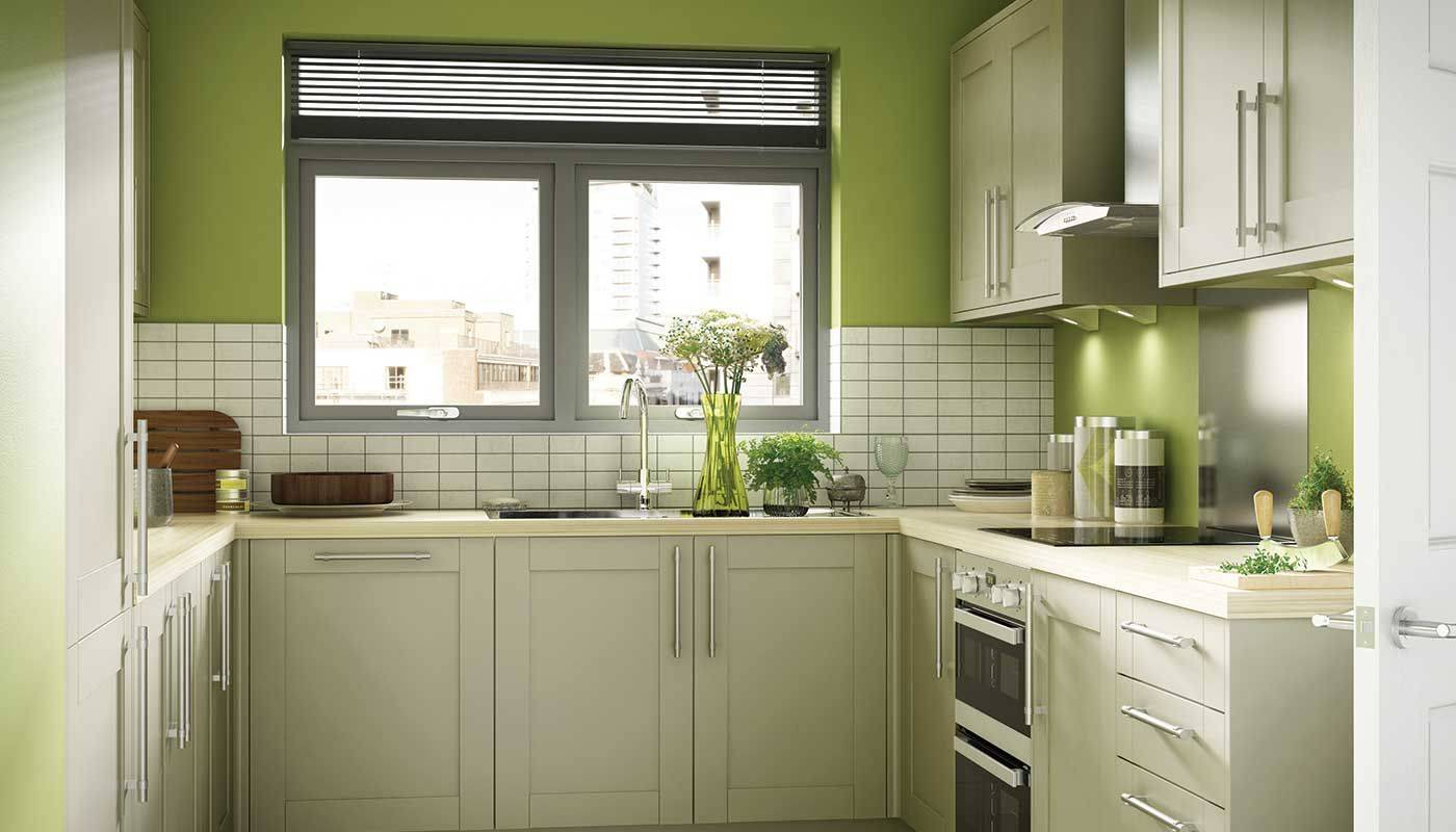 Оливковая кухня - 140 фото новинок дизайна кухни оливкового цвета