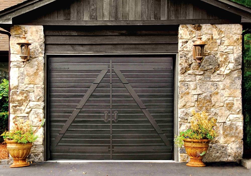 Деревянные ворота для гаража своими руками по чертежам