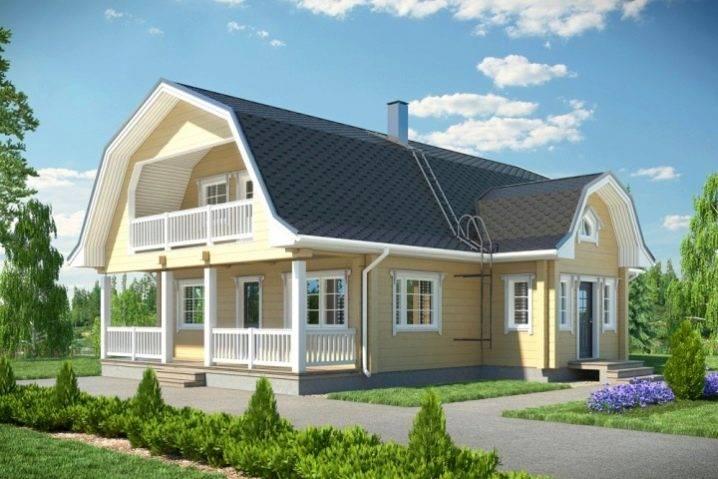 Двухскатная крыша с мансардой ⋆ domastroika.com