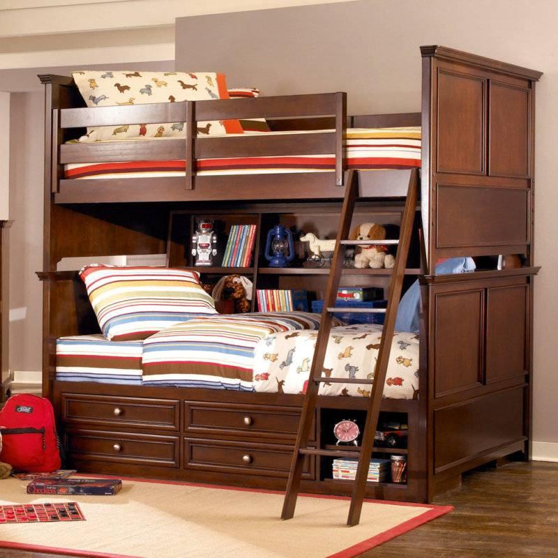 Как выбрать детскую двухъярусную кровать - важные советы. двухъярусная кровать-трансформер - как выбрать?