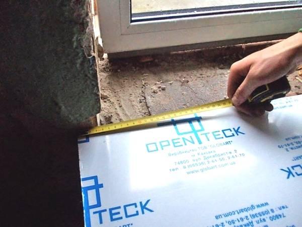 Как правильно установить пластиковый подоконник и сделать откосы на окна    папа мастер!