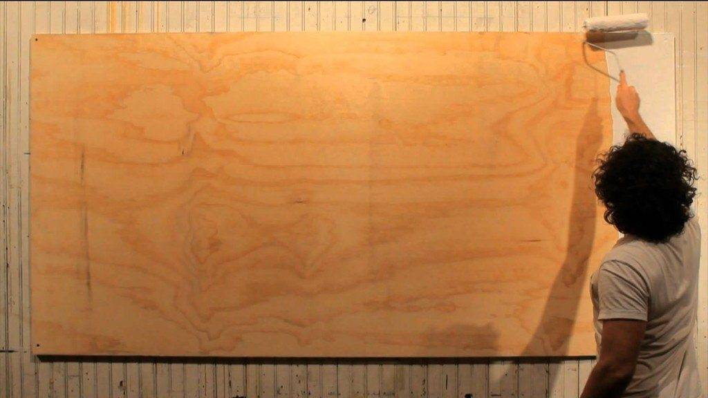 Шпаклевание деревянной поверхности