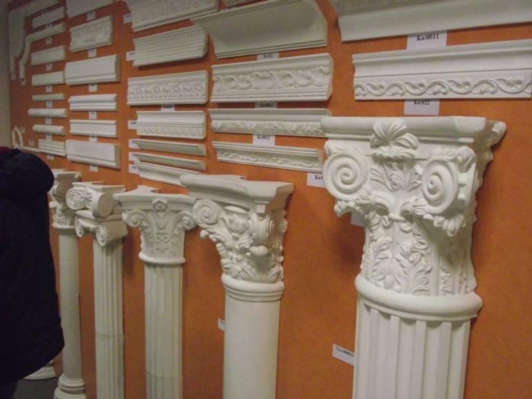 Декоративные колонны: варианты для самостоятельного изготовления | дом мечты