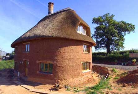 Дом глиночурка: технология строительства