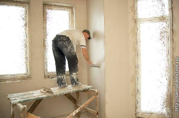 Штукатурка углов стен: способы и пошаговое выполнение операций