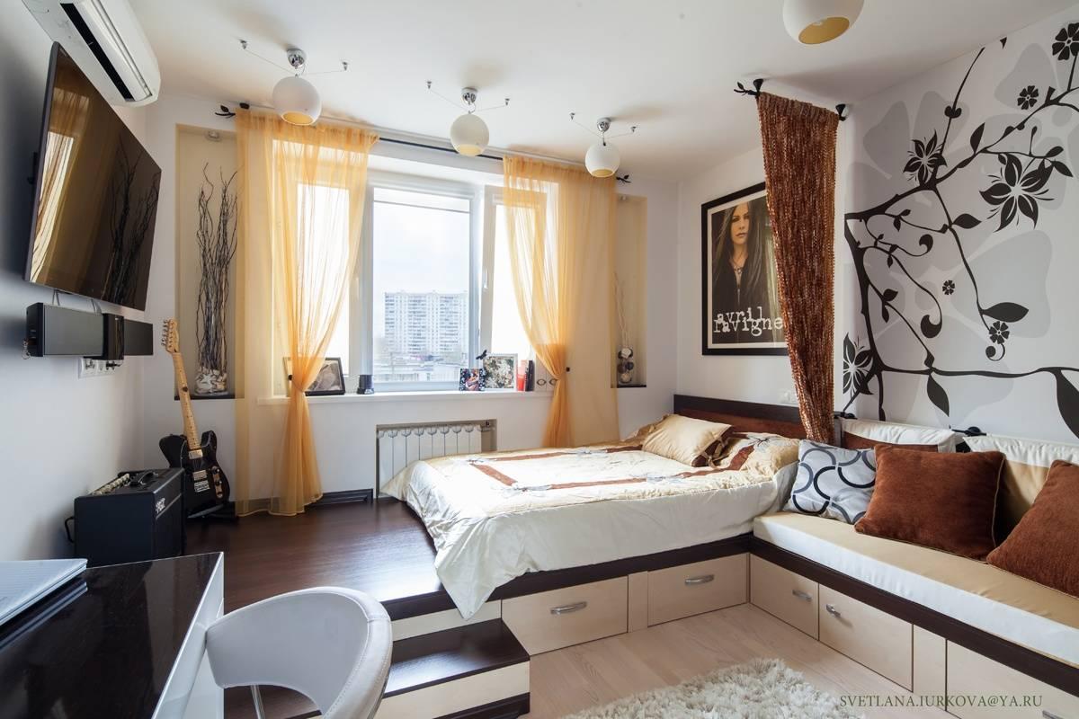 Спальня 16 кв. м. – 75 фото проектирования, зонирования и оформления небольших спален – строительный портал – strojka-gid.ru