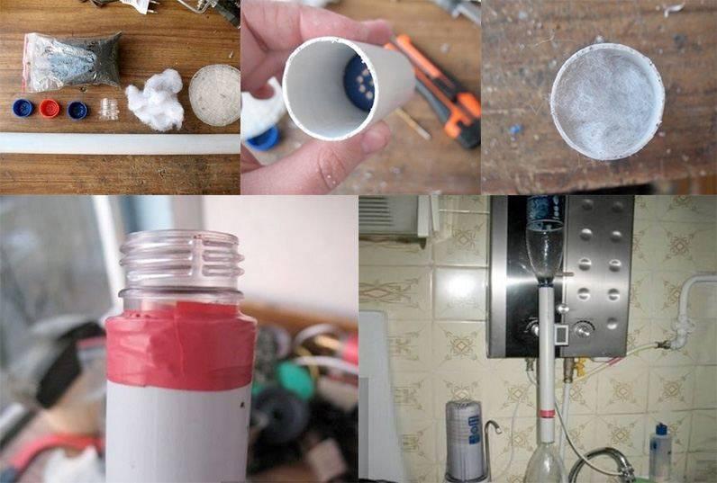 Фильтр для воды своими руками: способы изготовления фильтрующего приспособления из подручных средств