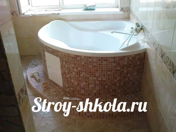 Как правильно установить акриловую ванну своими руками — пошаговое видео и фото