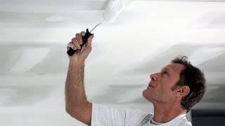 Как смыть побелку с потолка быстро - проверенные способы!