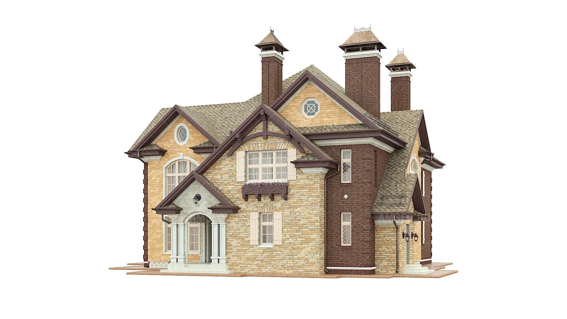 Дома в американском стиле: экстерьер, поэтажная планировка, коттедж под ключ