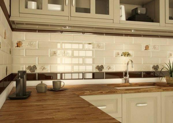 Фартук для кухни под кирпич (36 фото): особенности белых декоративных кирпичиков, характеристика фартуков в виде имитации кладки в кухонном интерьере