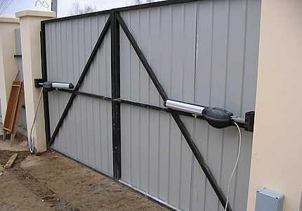 Рекомендации по подготовке проема для установки гаражных ворот