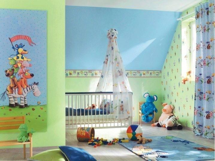 Детские флизелиновые обои (33 фото): модели на флизелиновой основе для комнаты мальчика