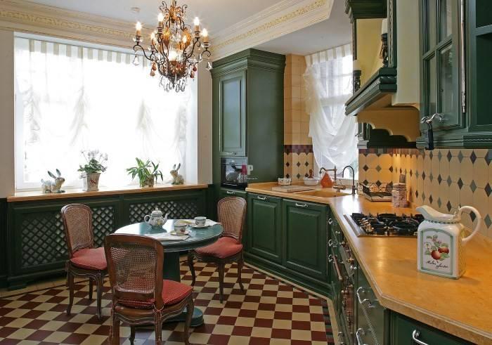 Кухня в английском стиле – интерьер