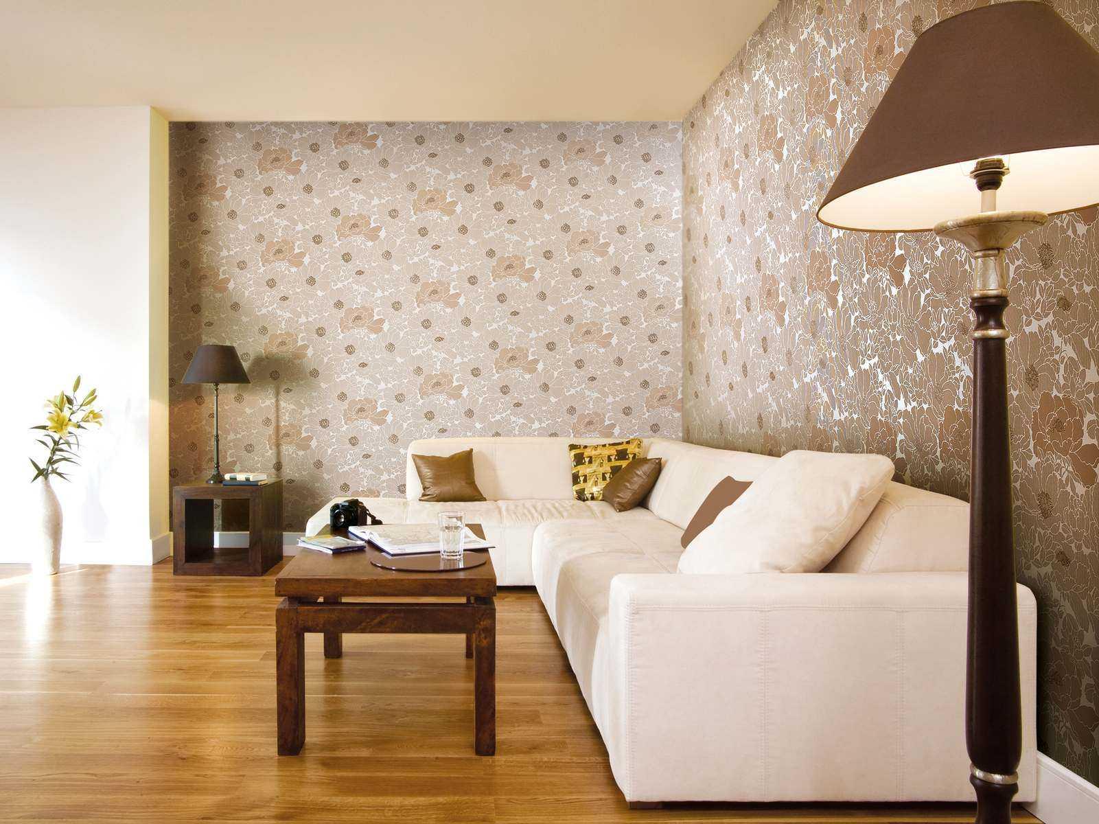 Обои в гостиную (+150 фото) дизайнов современных интерьеров. идеи комбинирования.