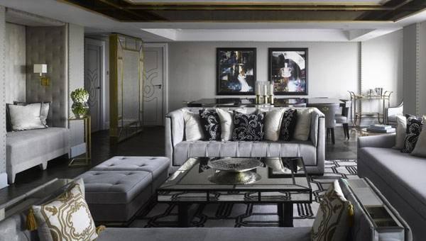 Серый цвет в интерьерах - примеры сочетаний и характеристика цвета