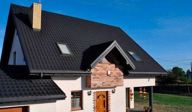 Какие бывают цвета металлочерепицы для крыши – цветовая гамма