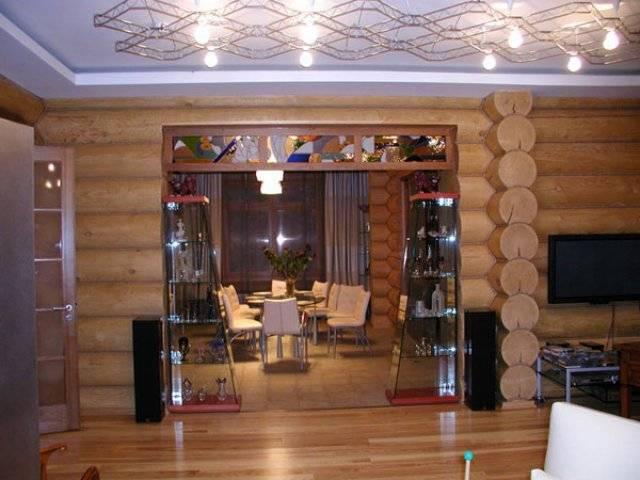 Низкий потолок в деревянном доме — как его поднять?