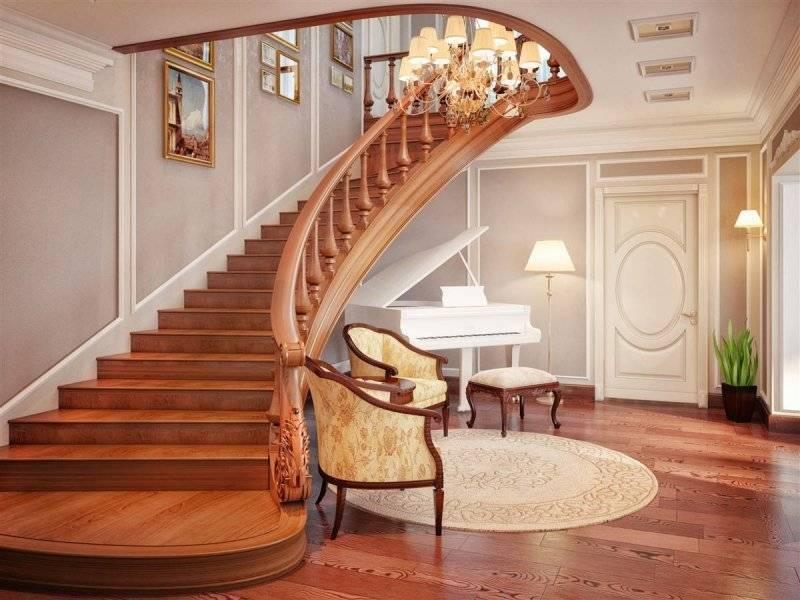 Оригинальные винтовые лестницы на второй этаж в интерьере (50 фото)