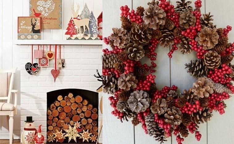 Декор на новый год 2021 своими руками! простые идеи декора с фото в нашей статье!