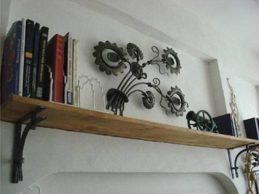 Как прикрепить столешницу к стене?