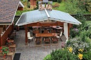 Строительство патио на даче: 145 фото идей конструкции и дизайна зоны отдыха