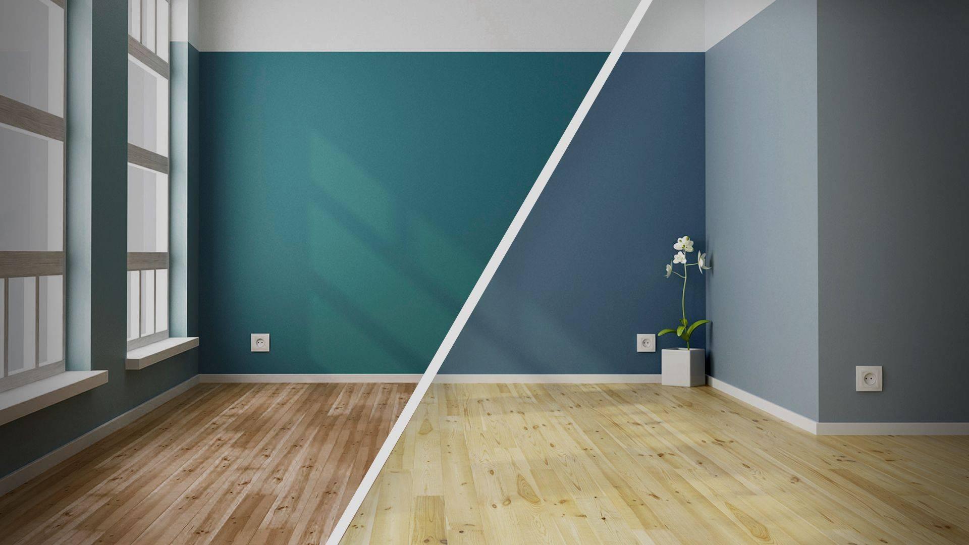 Уютный дизайн: что лучше, покраска стен или обои