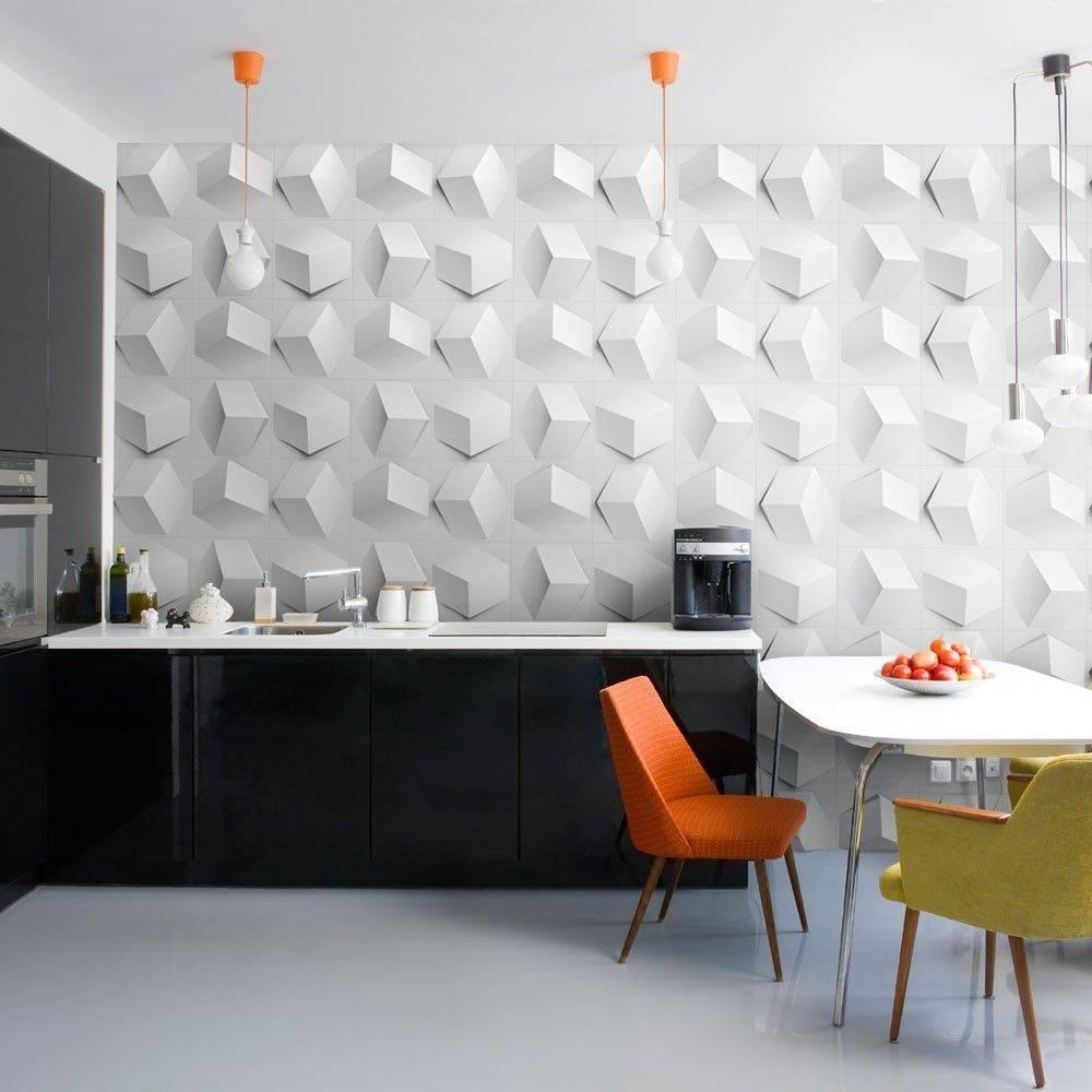 3д панели для стен в интерьере: фото, дизайн - школа ремонта