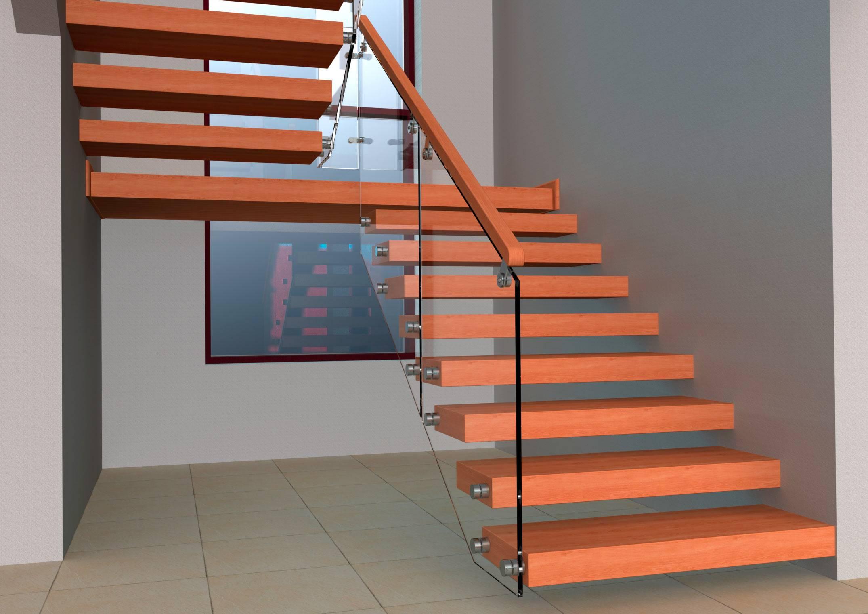 Устройство лестницы деревянной: виды, проектирование, монтаж