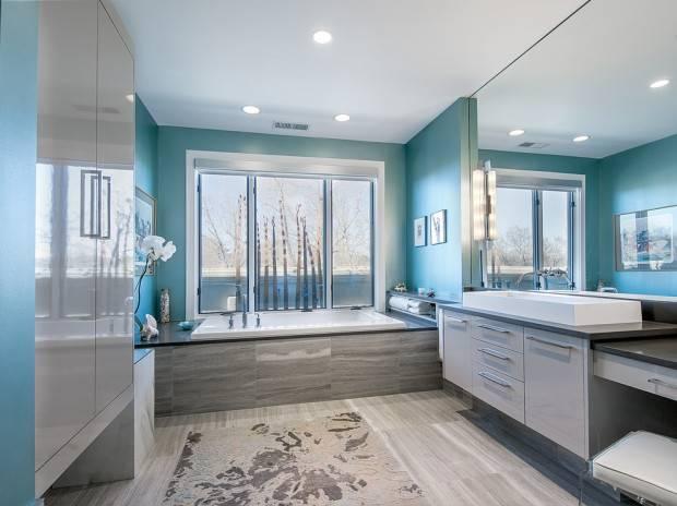 Серая ванная: подбираем цвет и стиль, расставляем акценты