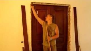 Особенности и порядок оформления декоративным камнем дверных проемов