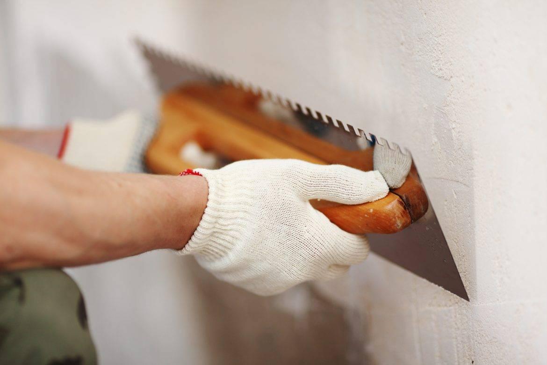 Штукатурка стен цементно-песчаным раствором – особенности работы