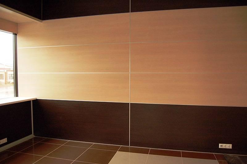 Отделка стен пвх панелями