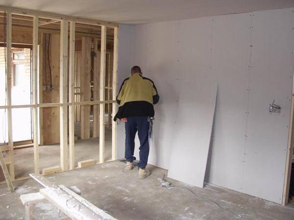Каркас из профиля под гипсокартон: обшиваем стены, собираем перегородки и конструкции