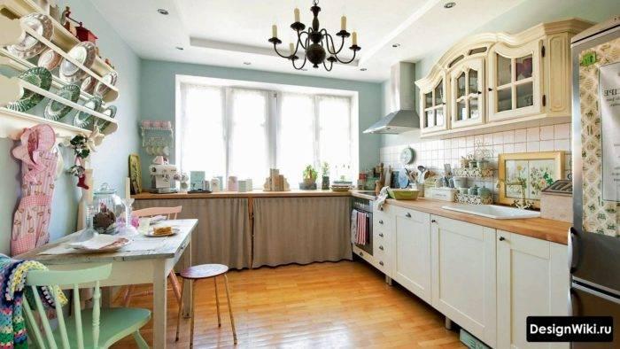 Кухни в стиле кантри и прованс (25 фото) — примеры живых интерьеров