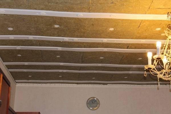 Как сделать шумоизоляцию потолка в квартире под натяжной потолок – выбор материалов, правила монтажа
