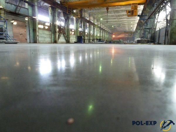 Топпинг для бетонного пола - выбор, технология нанесения
